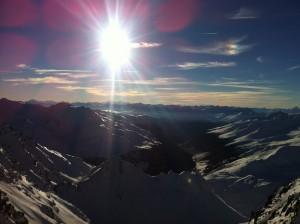 Mountain view Kaunertal Gletscher